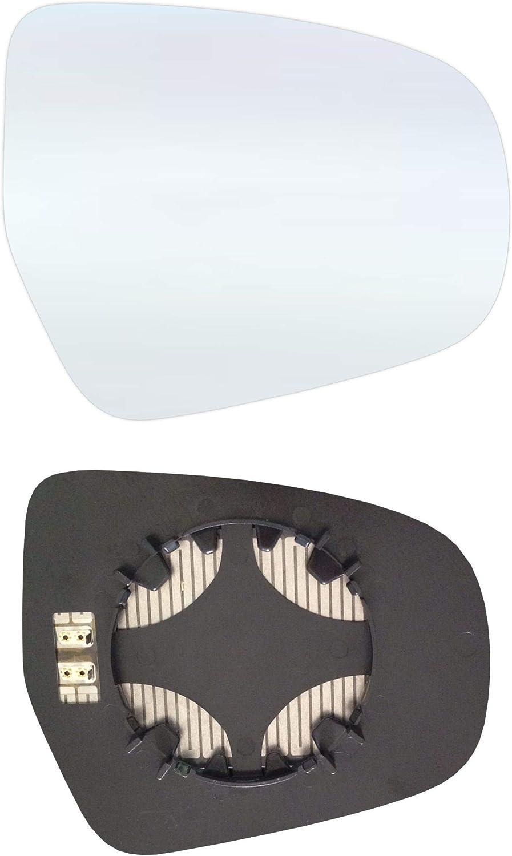Rechts Beifahrerseite Spiegelglas mit Platte und Heizung #AM-SIS413-RCH