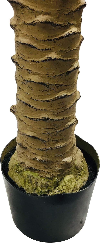 Geko Palmier Artificiel Vert Taille Unique 220 cm