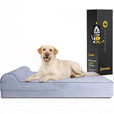 7-inch Thick High Grade Orthopedic Memory Foam Dog Bed