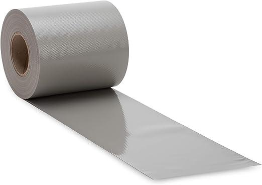Noor Lámina de protección transparente de PVC para diferentes vallas de jardín, valla de malla de