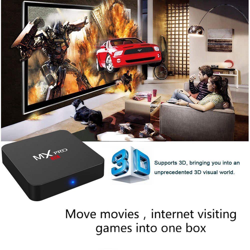 Amazon.com: BOMIX Android BOX, MXQPRO 4K 1G/8G Android 6.0 Marshmallow OS  Amlogic S905X Smart TV Box Quad Core HDMI WIFI 3D Google Smart TV BOX:  Electronics Home Design Ideas