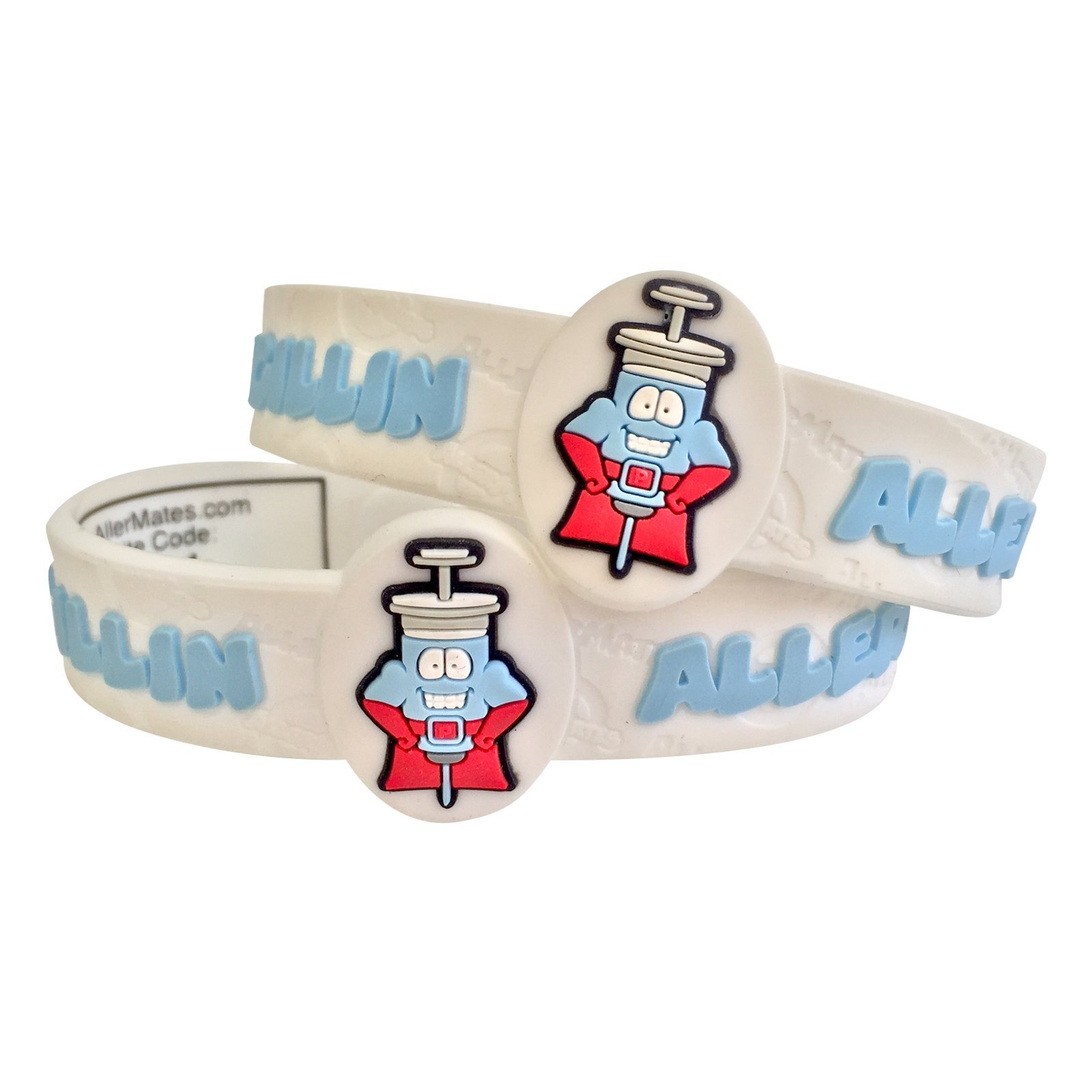 AllerMates Kids Medical Wristband - Penicillin