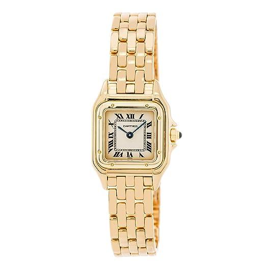 Panthere Cartier de Cartier Cuarzo Mujer Reloj 107000 M (Certificado) de Segunda Mano: Cartier: Amazon.es: Relojes