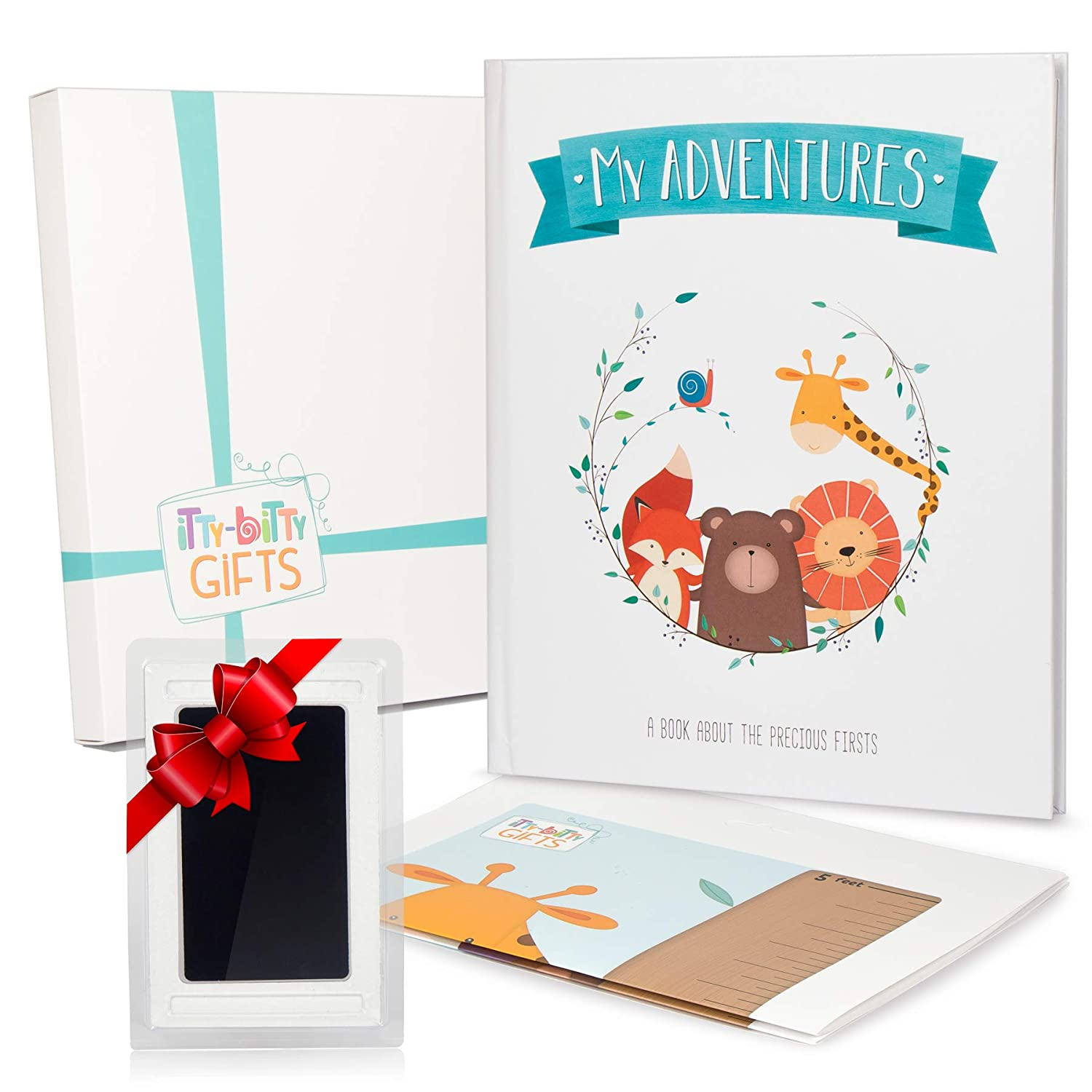 Itty Bitty First 5 Years Memory Book | Best Baby Album & Journal for New & Expectant Parents | Record Milestones & Memories from Birth to Five Years of Age | Unique Scrapbook Design for Boys & Girls Creative Goods