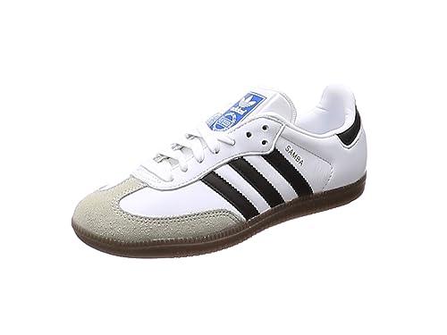 new arrival 64103 29efd adidas Men s Samba Og Gymnastics Shoes, (FTWR White core Black Clear Granite