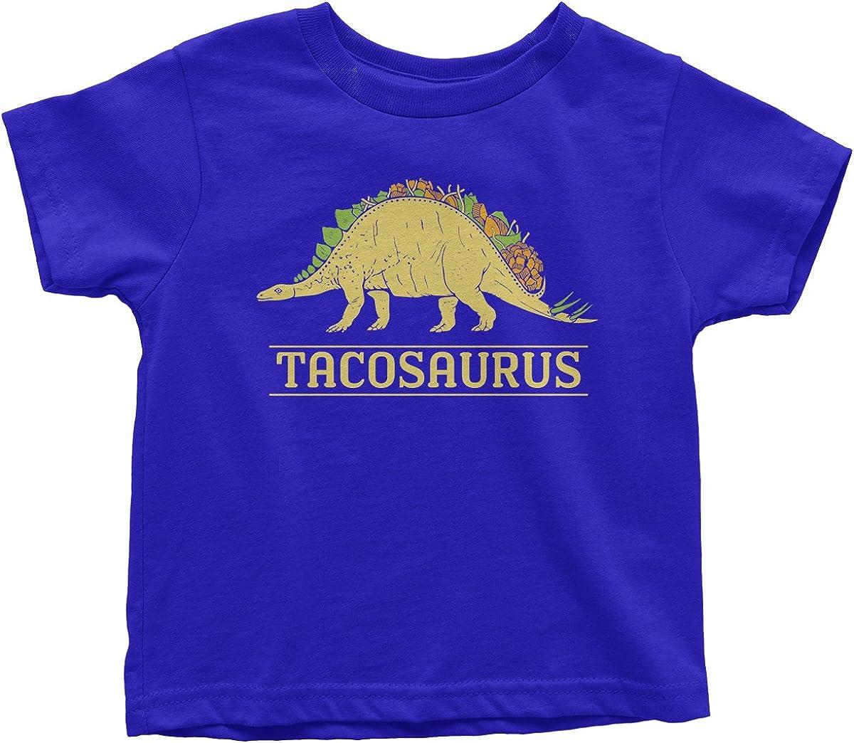 Threadrock Kids Tacosaurus Dinosaur Taco Toddler T-Shirt