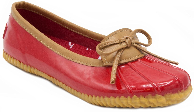 London Fog Womens Webster Duck Style Rain Shoe lfw-webster