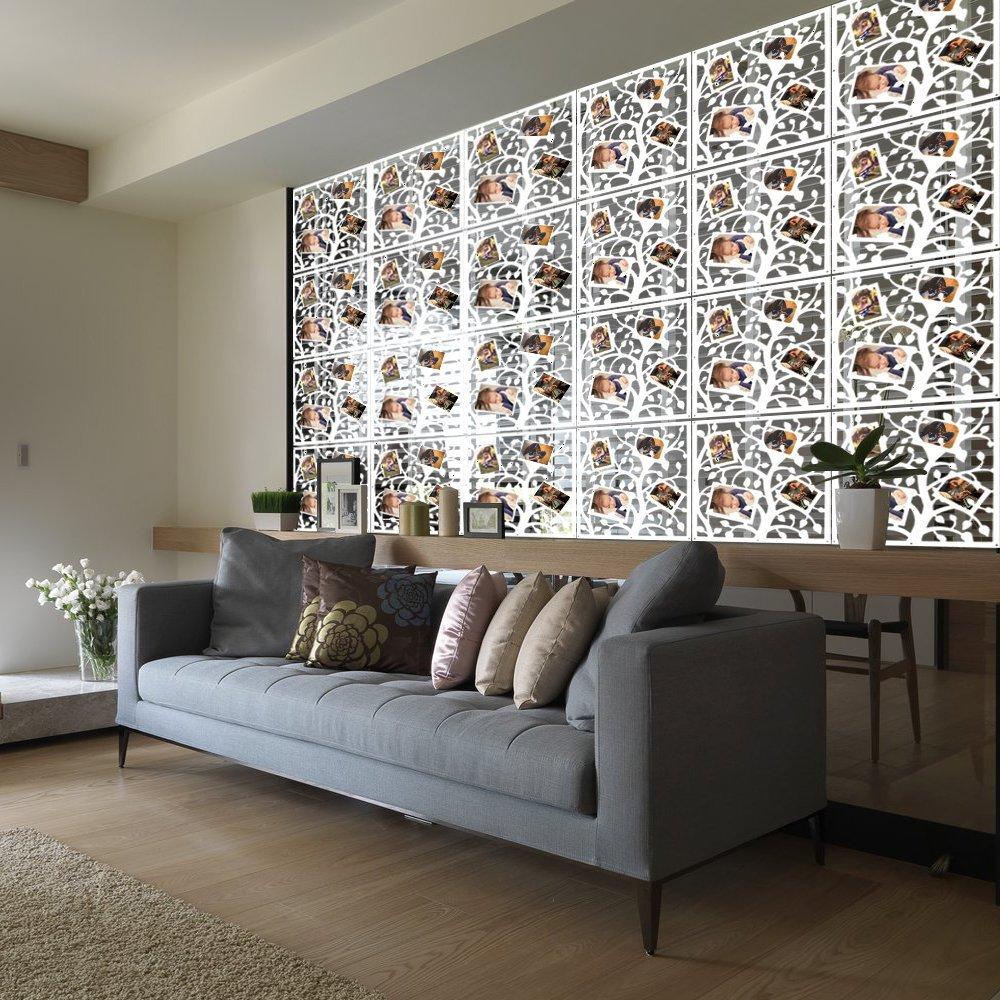 Increíble Habitación Marco Divisor Embellecimiento - Ideas de Arte ...