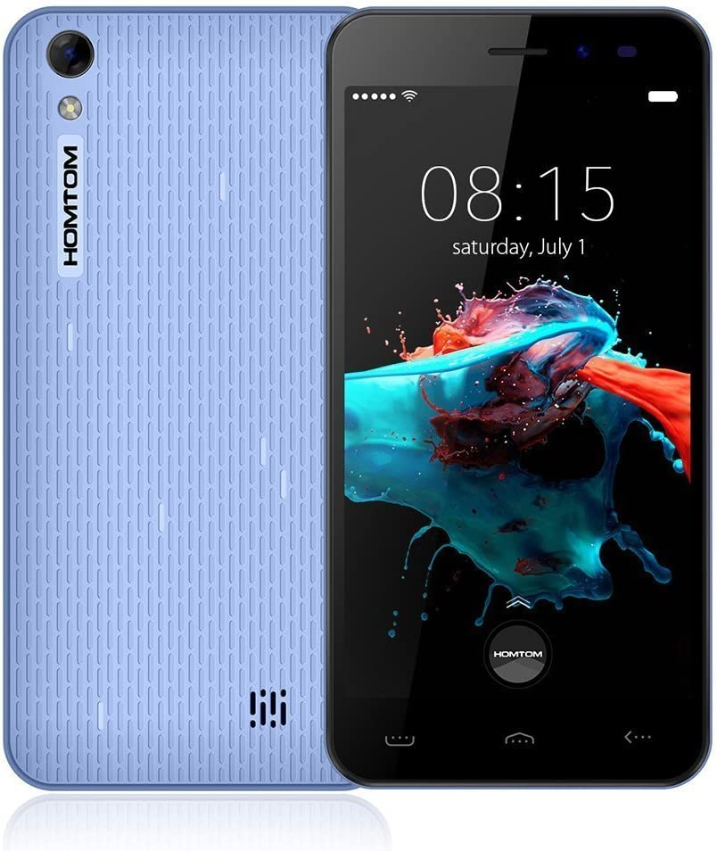 HOMTOM HT16 Smartphone Desbloqueado 5.0 Pulgadas HD Android 6.0 ...