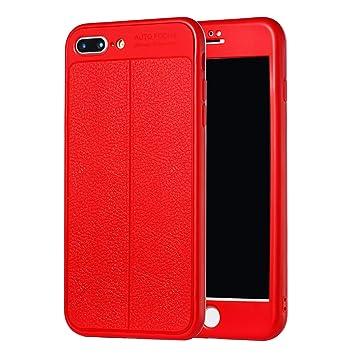 Uposao Funda iPhone 7 Plus/8 Plus Carcasa Funda Caso 360 ...