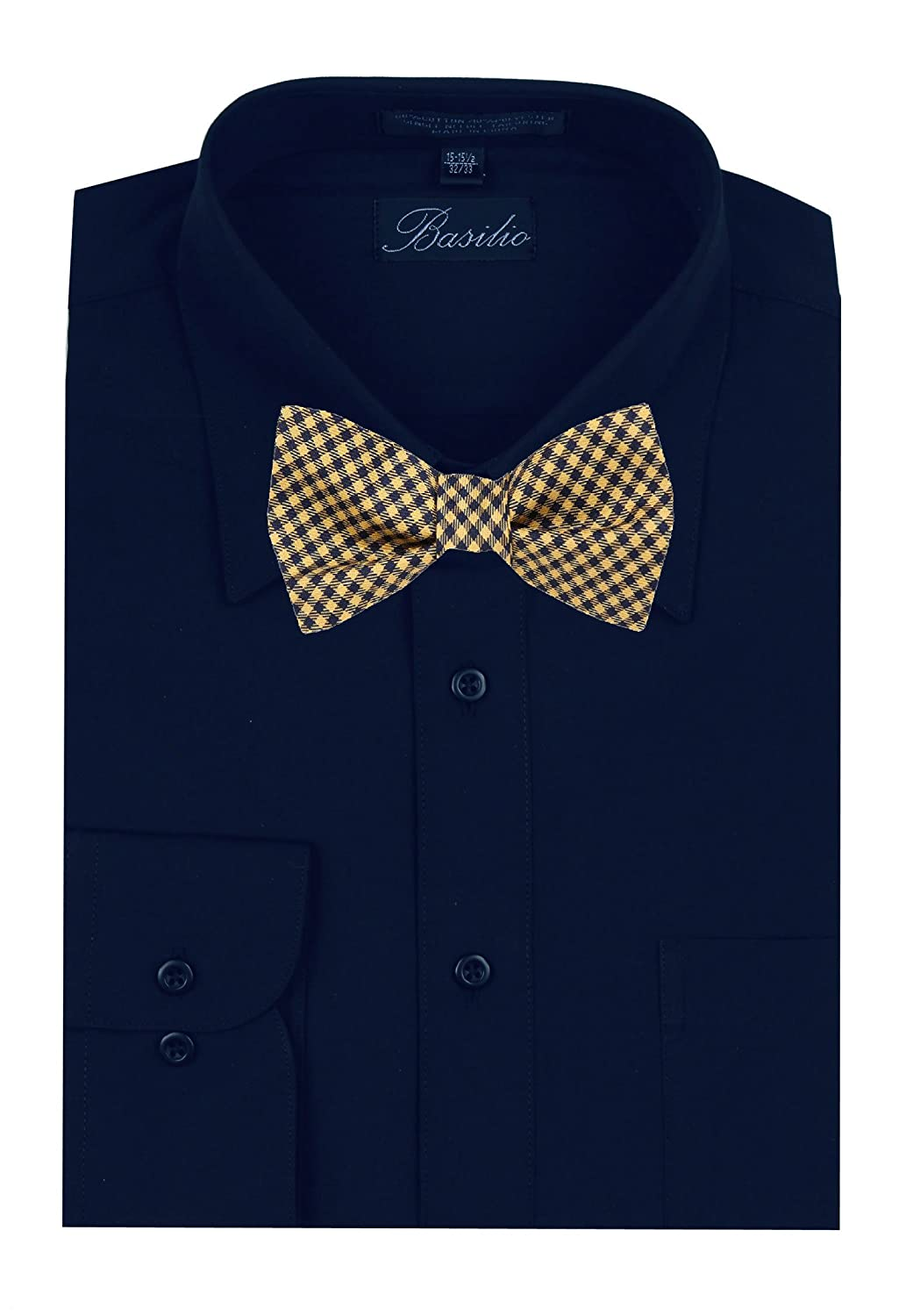 Mens Yellow and Gold Silk Self Tie Bowtie Tie Yourself Bow Ties