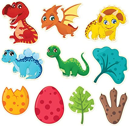 Little Dino Themed Party 3D Center Piece for Kids Birthday Baby Shower Jungle Animal Theme Party Supplies Mocoosy 12PCS Dinosaur Party Supplies Honeycomb Centerpiece for Table Decorations
