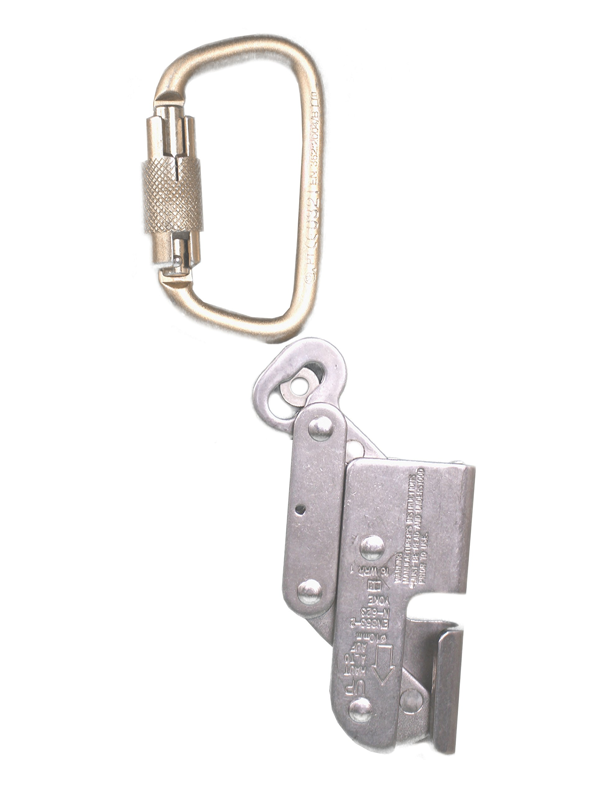 Elk River 19401 Wire Rope Grab with Carabiner, 3/8'' Size by Elk River (Image #1)