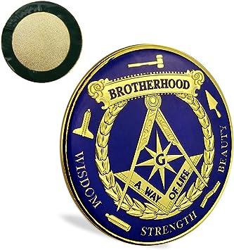New Freemason Masonic Car Emblem