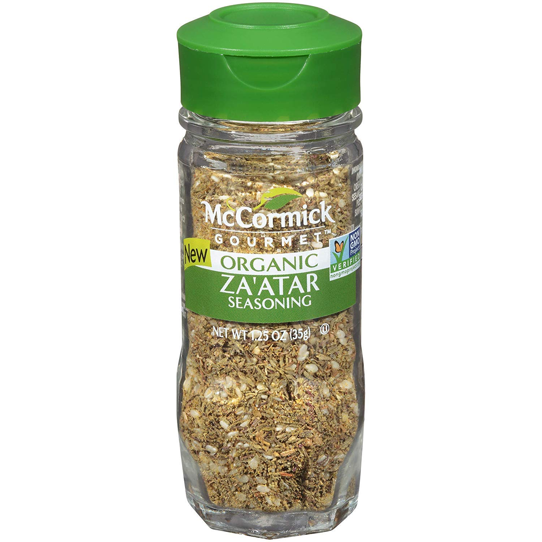 McCormick Gourmet Organic Za'atar, 1.25 oz (Pack - 2)