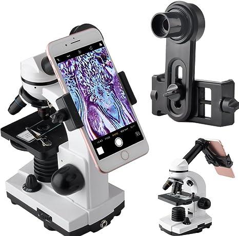 Adaptador de lente de microscopio, microscopio para cámara de ...