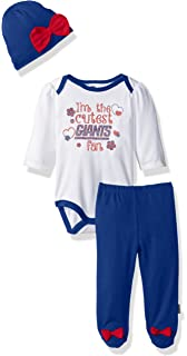 d51712754 Amazon.com   NFL New York Giants Baby-Girls 2-Piece Football Dress ...