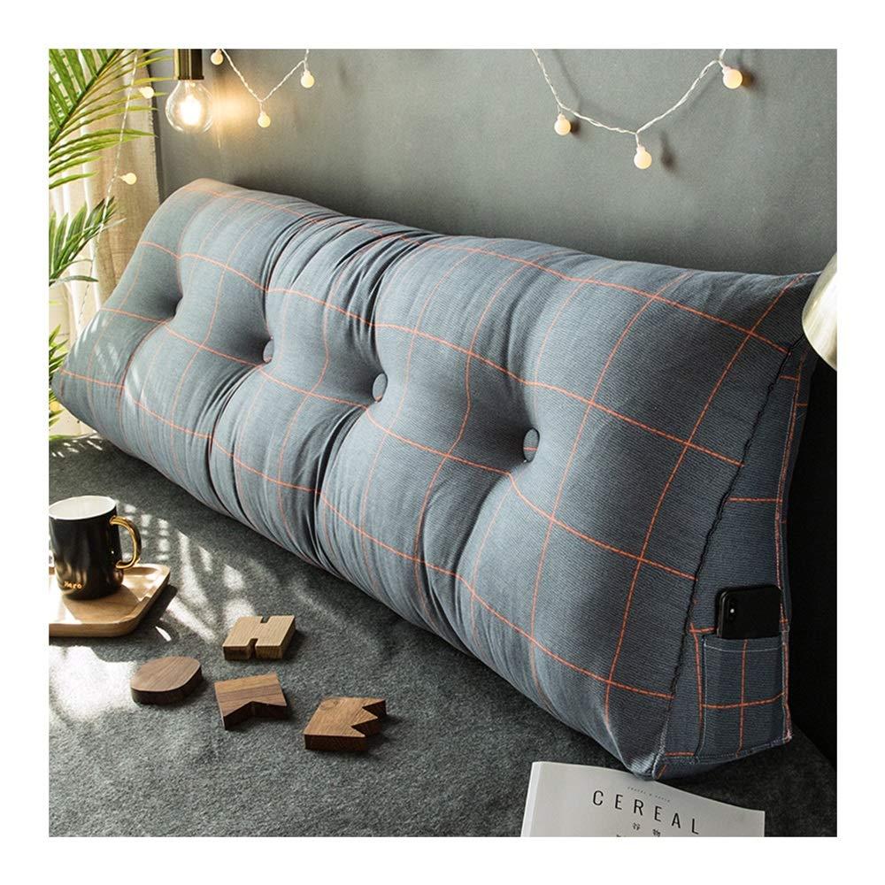 Amazon.com: YYH Triangle Bed Pillow headboard Soft Bag ...