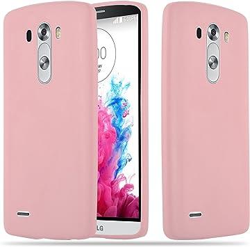 Cadorabo Funda para LG G3 en Candy Rosa – Cubierta Proteccíon de ...