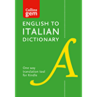 Collins English to Italian (One Way) Gem Dictionary: Trusted support for learning (Collins Gem)