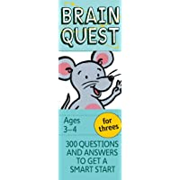 Brain Quest for Threes Q&A Cards: 300 Questions and Answers to Get a Smart Start. Teacher-approved!