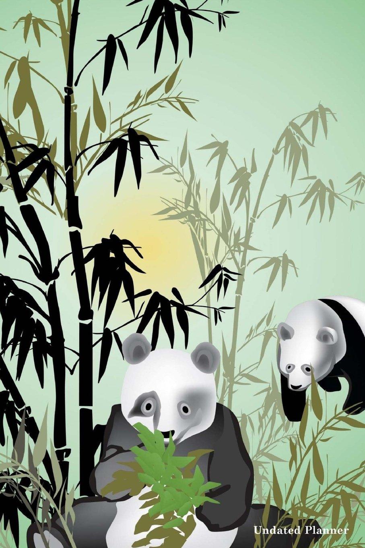 Read Online Undated Planner ( Weekly Planner Daily Planner): Small Weekly Day Panda Planner Undated (Agendas and Planners) pdf epub