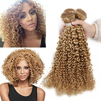 Amazon hanne 3 bundles of blonde brazilian curly hair kinkys hanne 3 bundles of blonde brazilian curly hair kinkys curly virgin hair 7a brazilian hair weave pmusecretfo Choice Image
