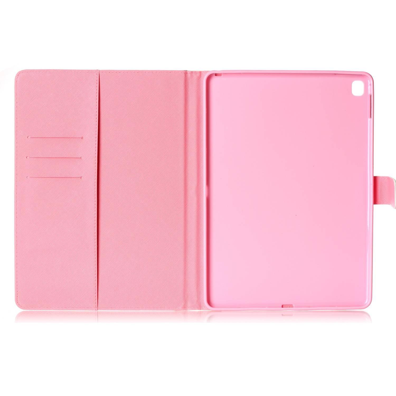 iPad Pro 9,7/carcasa Dooki Supporter Flip Piel Sint/ética Funda protectora Funda Carcasa tipo cartera para Apple iPad Pro 9.7/con cr/édito Tarjeta tenant hendidura