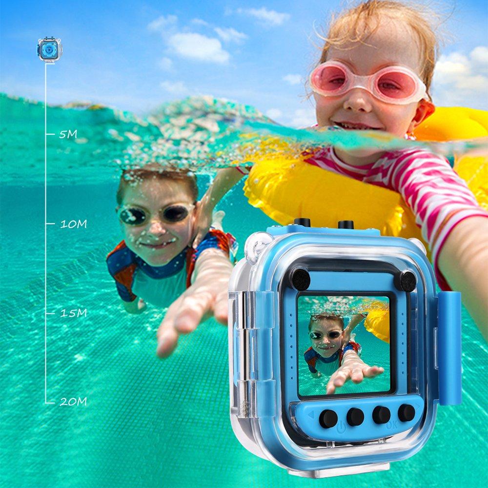 GAKOV GACD WiFi 1080P 2MP Underwater Kids Camera 20m Waterproof Sports Camera for Kids by GAKOV (Image #4)