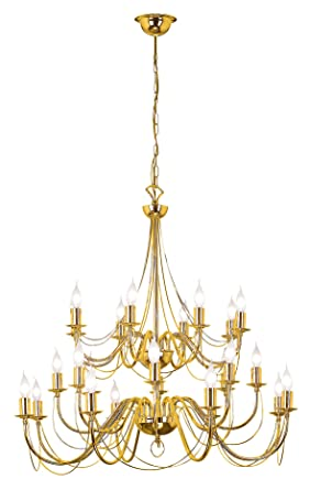 Araña Techo Lámpara plafón decorativo clásico estilo ...