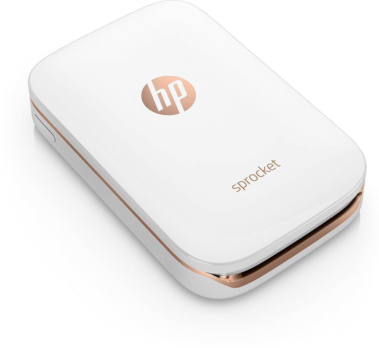 HP Sprocket Stampante Fotografica Istantanea Portatile 5 x 7.6 cm Bianco