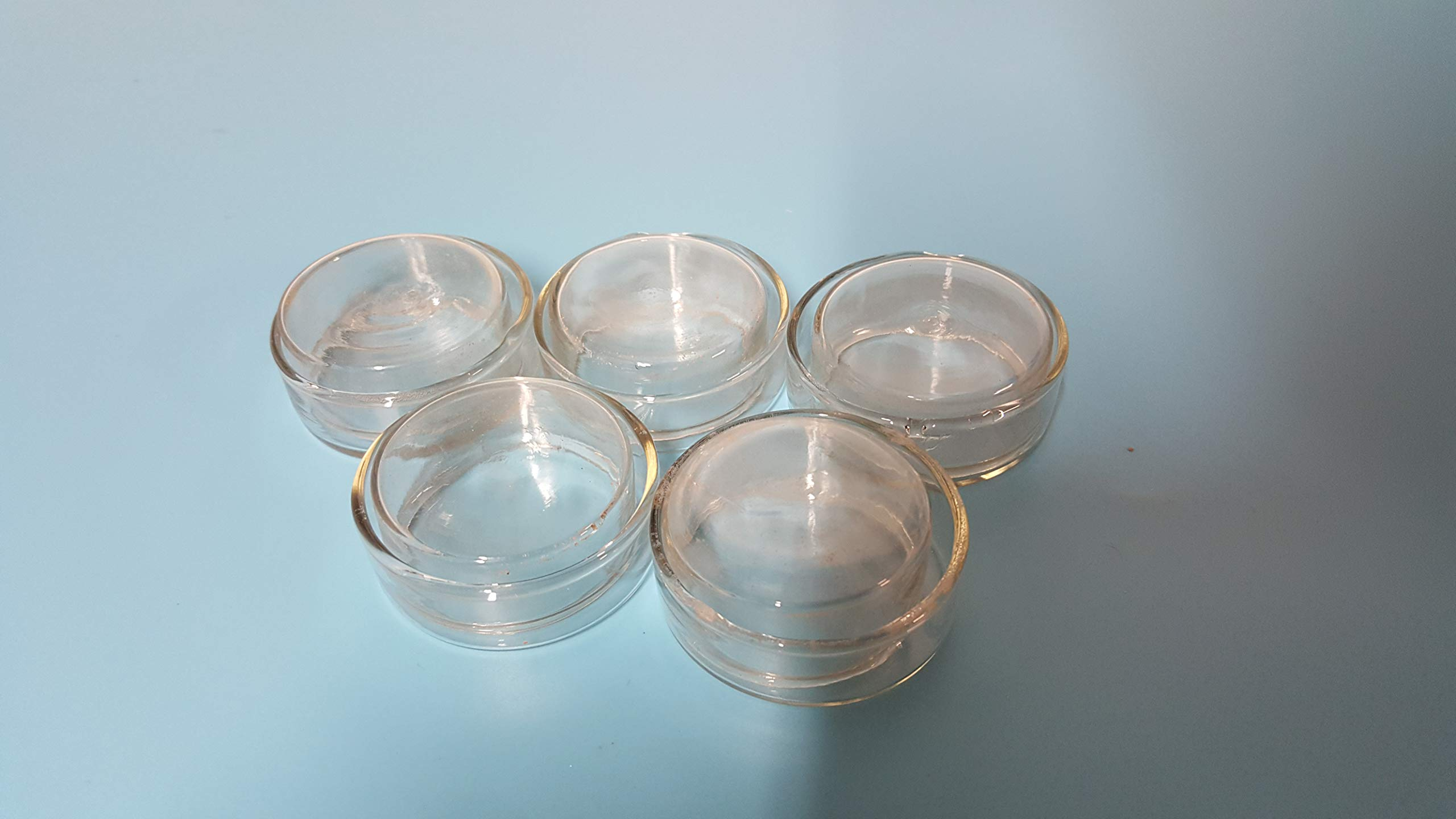 Beyondsupply-lab Glass Petri Dish Clear Borosillicate 35mm Pack of 5 by beyondsupply