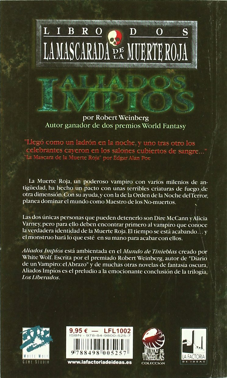 Aliados impios (Muerte roja): La Factoria de Ideas: 9788498005257: Amazon.com: Books