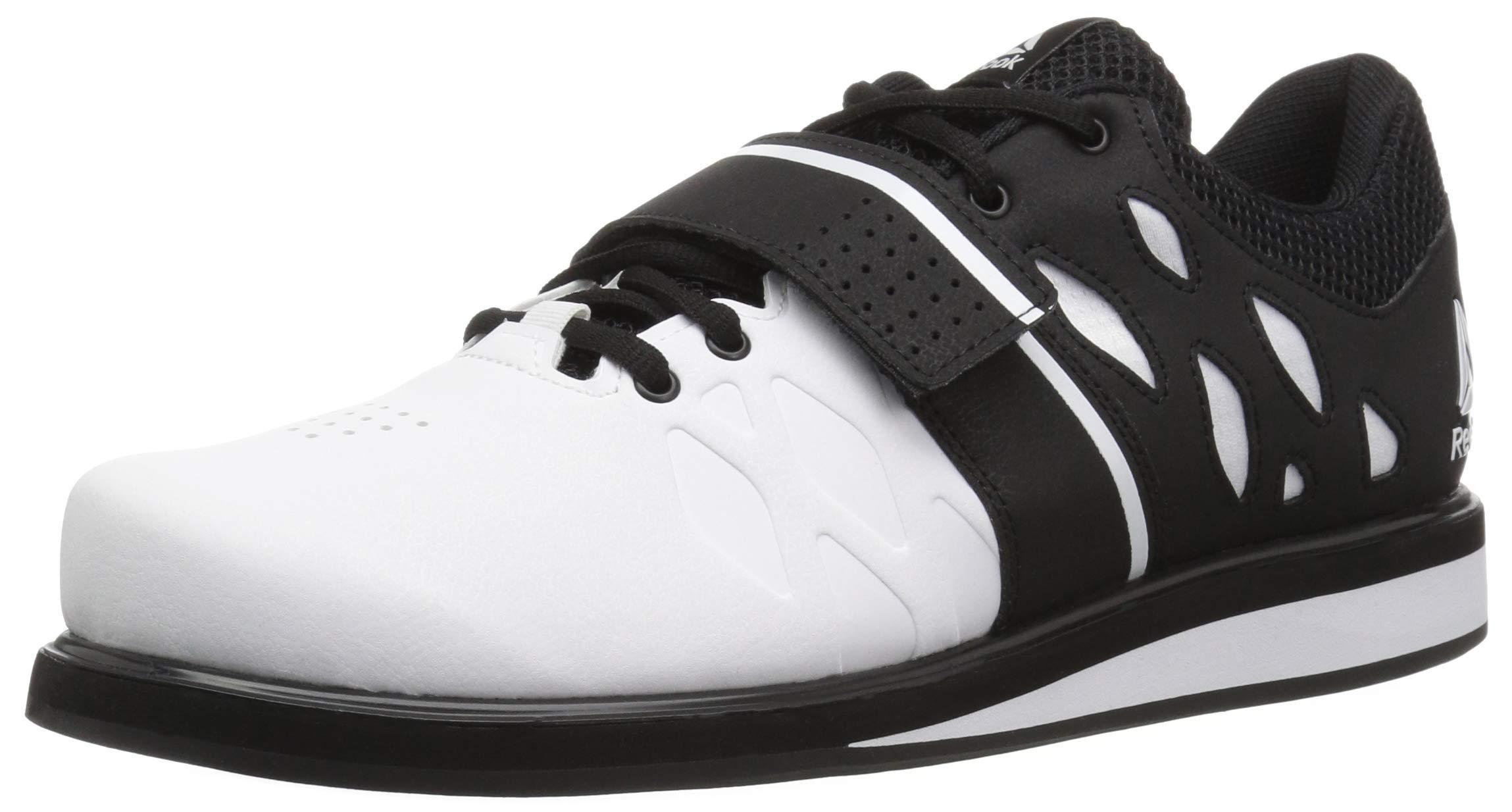 Reebok Men's Lifter Pr Cross Trainer, White/Black, 6.5 M US