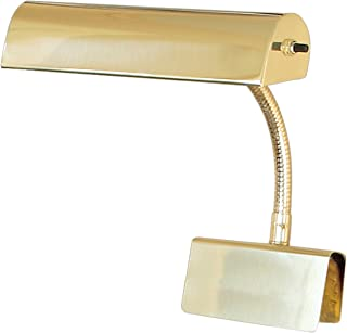 product image for House Of Troy GP10-61 Grand Piano 10-Inch Portable Lamp, Polished Brass