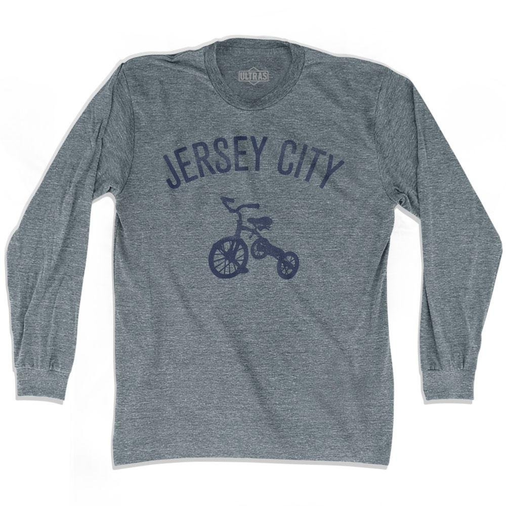 Jersey City Tricycle Adult Tri-Blend Long Sleeve T-shirt