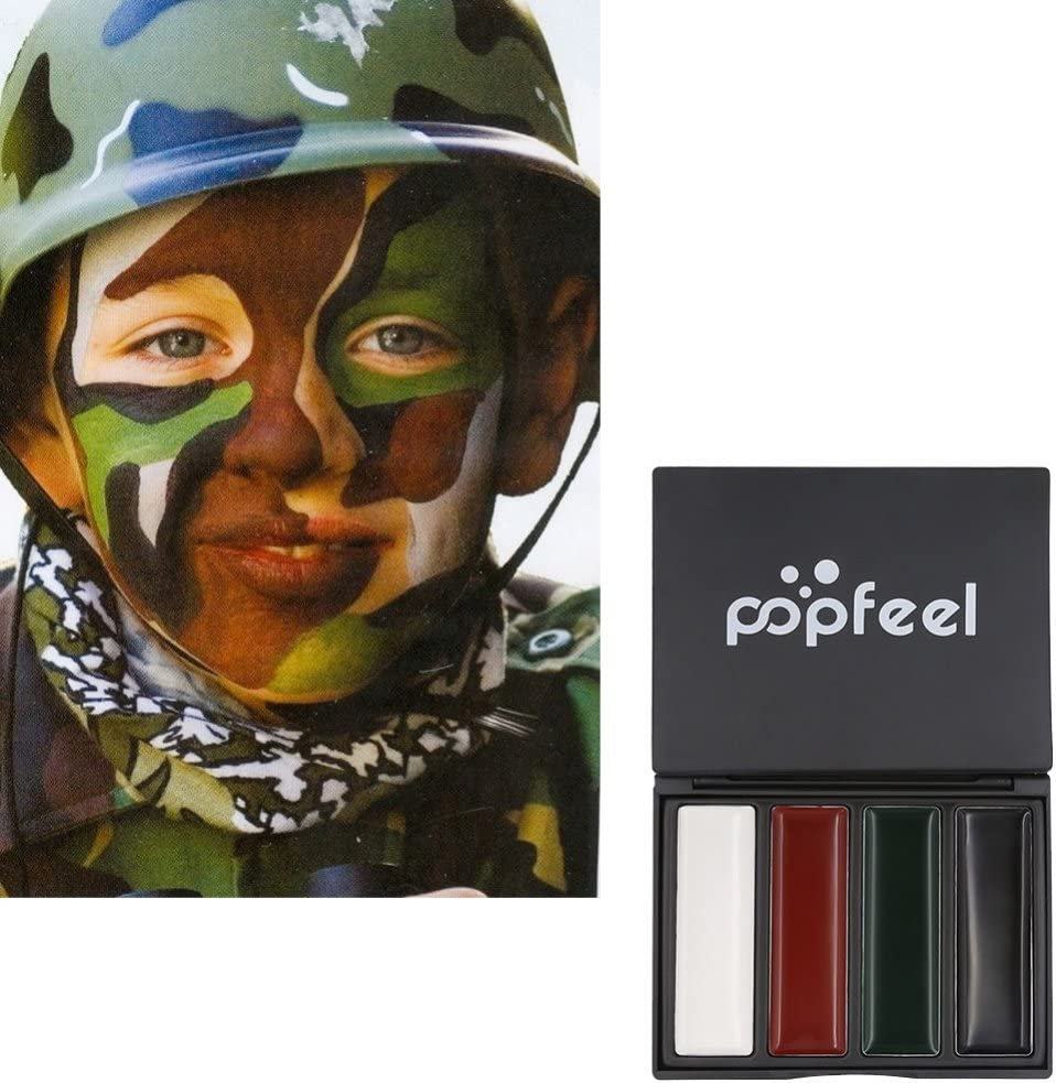 Ropalia Tattoo Face Body Paint Oil Painting Outdoor Camouflage Oil Amazon Co Uk Beauty