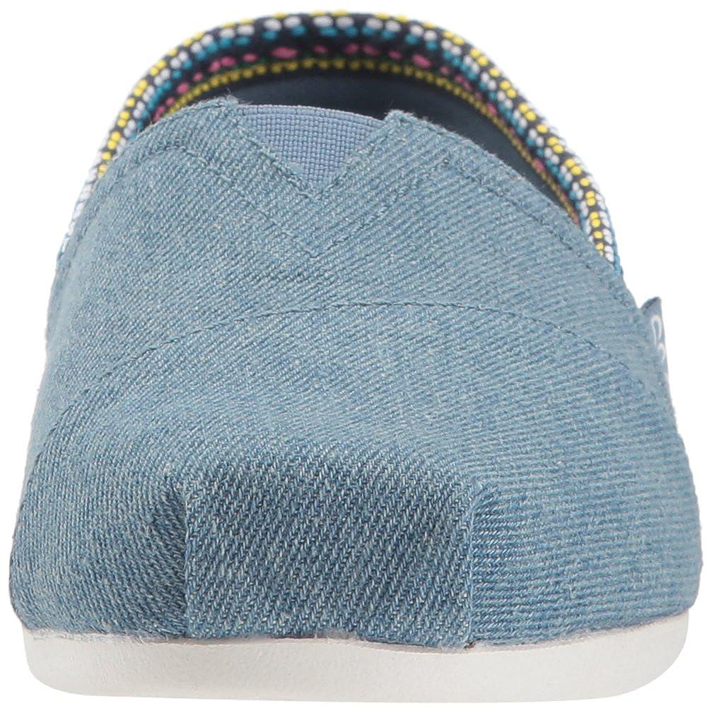 Skechers Powwow Bobs Damen Slipper Plush Powwow Skechers Blau - de07e1