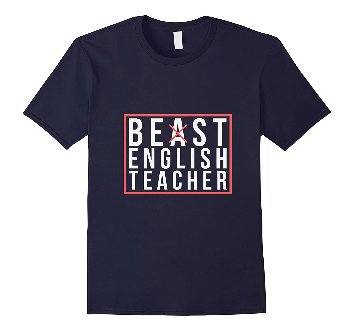Best English Teacher Funny Teaching T Shirt-ANZ
