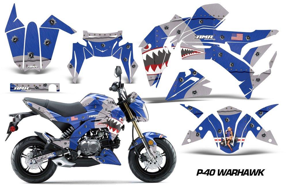 2017 Kawasaki Z125 Pro >> Amazon Com Kawasaki Z125 Pro 2017 Mx Dirt Bike Graphic Kit