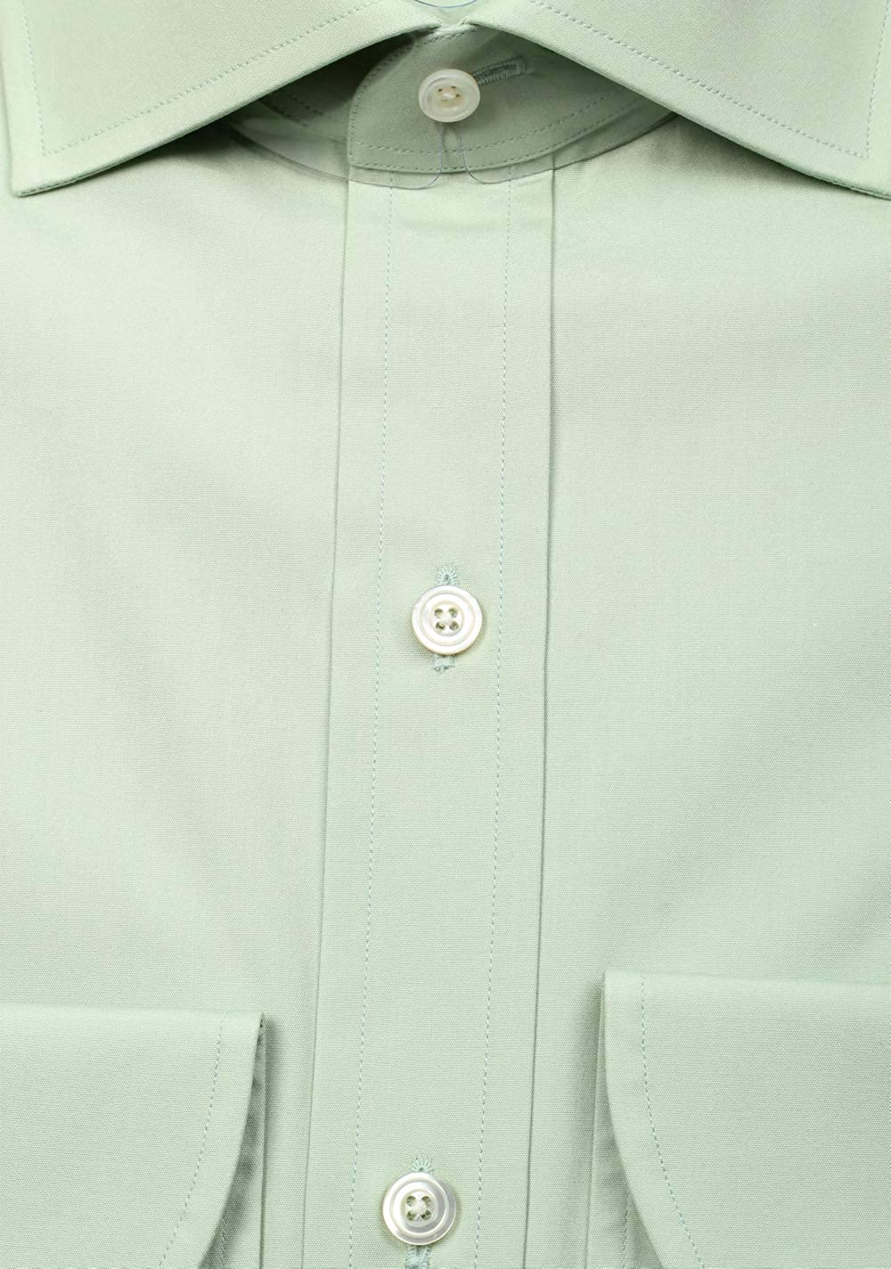 CL Tom Ford Solid Blue Green Shirt Size 44//17,5 U.S.