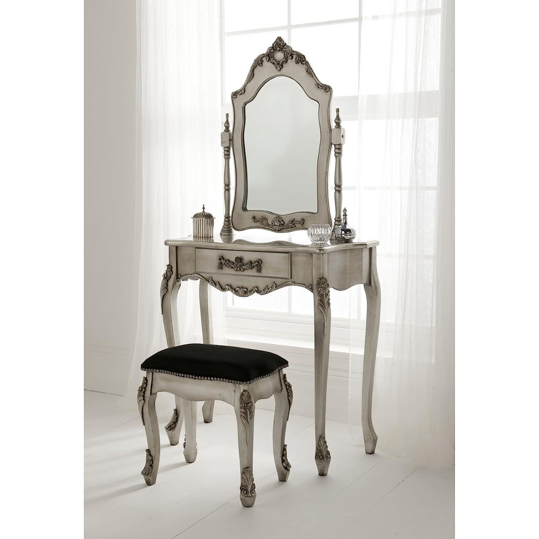Homesdirect365 Antique French Dressing Table Set: Amazon.co.uk: Kitchen U0026  Home