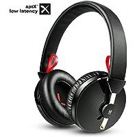 OneAudio APTX Low Latency Kopfhörer, Kabellos Bluetooth Kopfhörer Over Ear, Memory Foam Ohrploster & Dual 40mm Treiber Mit Bass, Hohe Tragkomfort, 20 Stunden Spielzeit, Verstellbare Headset für TV,PC