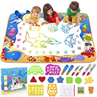 Toyk Aqua Magic Mat - Kids Painting Writing Doodle Board Toy - Color Doodle Drawing...
