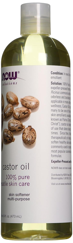 now foods castor 16 oz ca health personal care