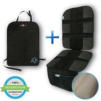 Amazon.com: StayNpro Luxury Kids Car Seat Protector and Kick Mat ...