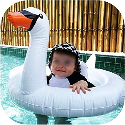 Swan 1:12 Scale Dollhouse Miniature Pool Float