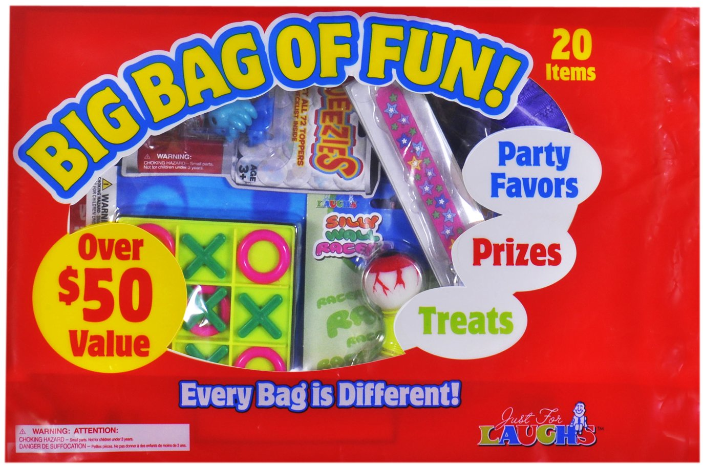 Just For Laughs Big Bag of Fun by Just For Laughs