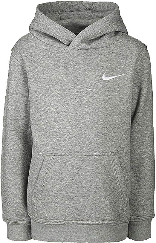 Nike Sweat A Capuche Garcon Gris 8UB66704