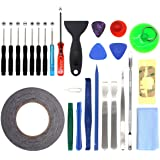 27 in 1 Screwdriver Kit Repair Tool for iPhone 7/6/6s/Plus/6s/5/5s/5c/4/IPad/iPodiPad Samsung HTC Sony LG and Small Home…